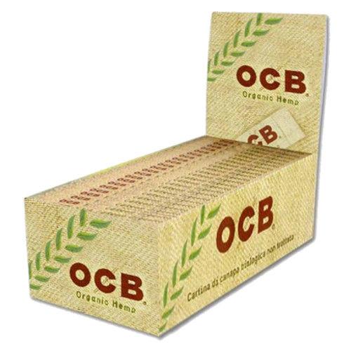 papel OCB organico 25 libritos x 50 hojas