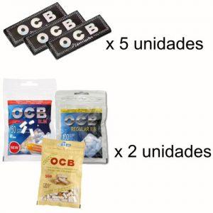 ocb-negro-premiumx5+filtros-ocbx2